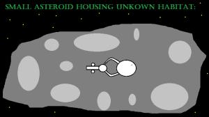 Asteroid base (unexplored)